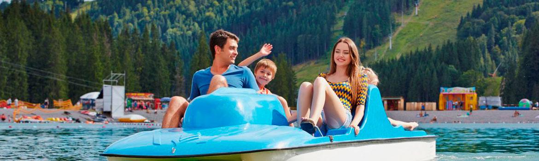 Озеро Молодости - отдых летом в Карпатах