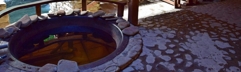 Осенний отдых в Карпатах - купание в чанах